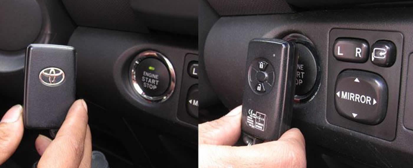 Smart Entry Key (Keyless) Untuk Kendaraan Kesayangan Anda